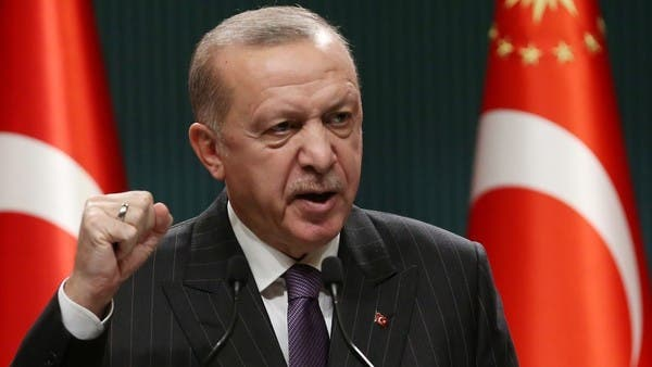Turkey's Erdogan says opposition call for bureaucrat rebellion is a crime
