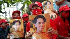 Anti-coup protest draws hundreds in Myanmar's biggest city