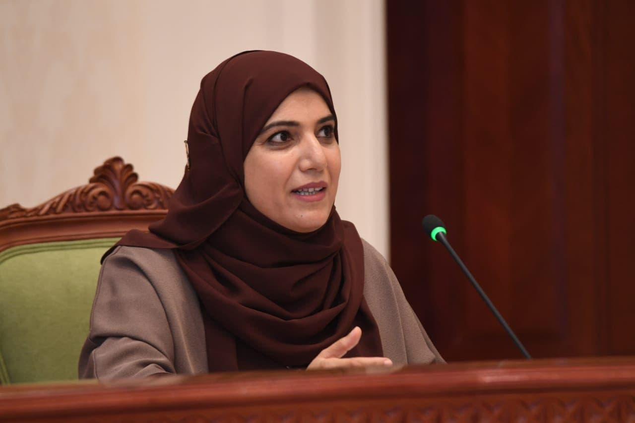 Dr. Amal Saif Sulaiman al-Maani, Director of Infection, Prevention and Control at Oman's Ministry of Health. (Twitter)