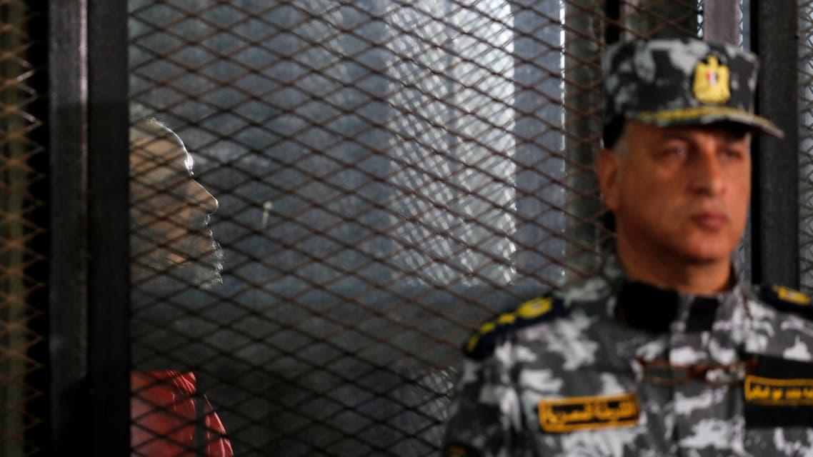 من محاكمات قادة الاخوان المسلمين في مصر (أرشيفية- رويترز)