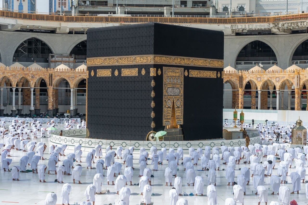 Mawasim is the Hajj and Umrah division of Seera Group, with the travel services provider offering pilgrims a simple booking experience. As part of the goals of Saudi Vision 2030 the country aims to welcome 30 million pilgrims by 2030. (File photo)