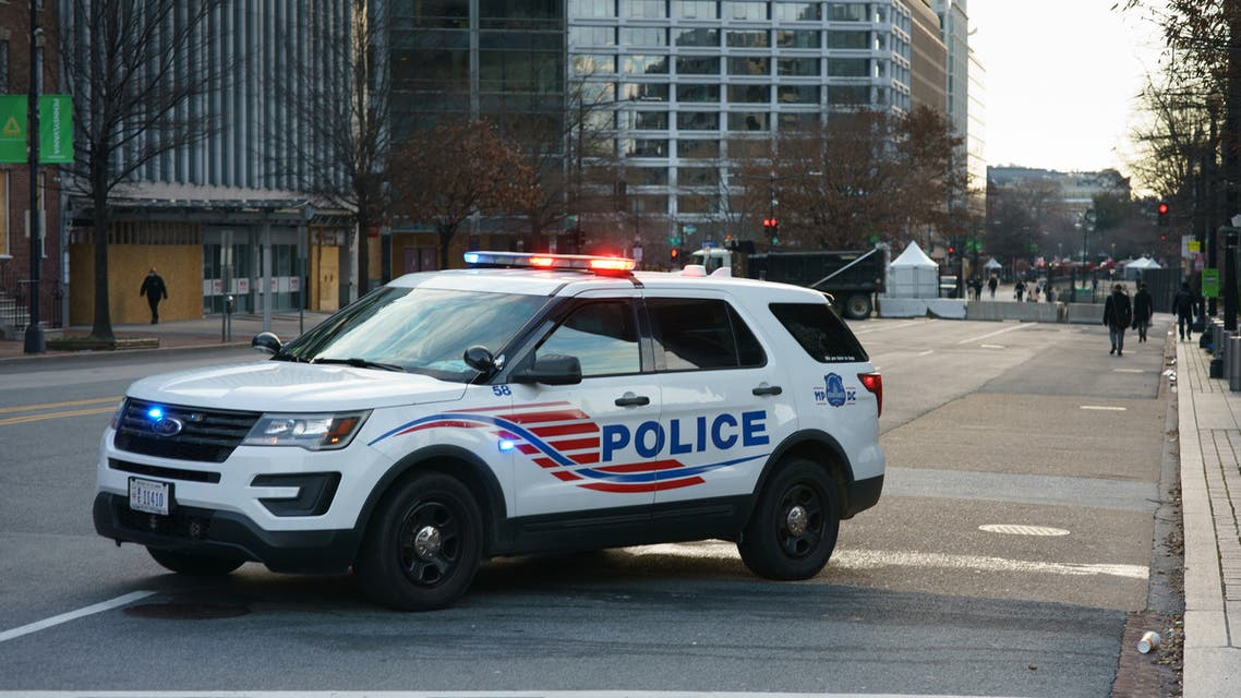 A US police car. (AFP)