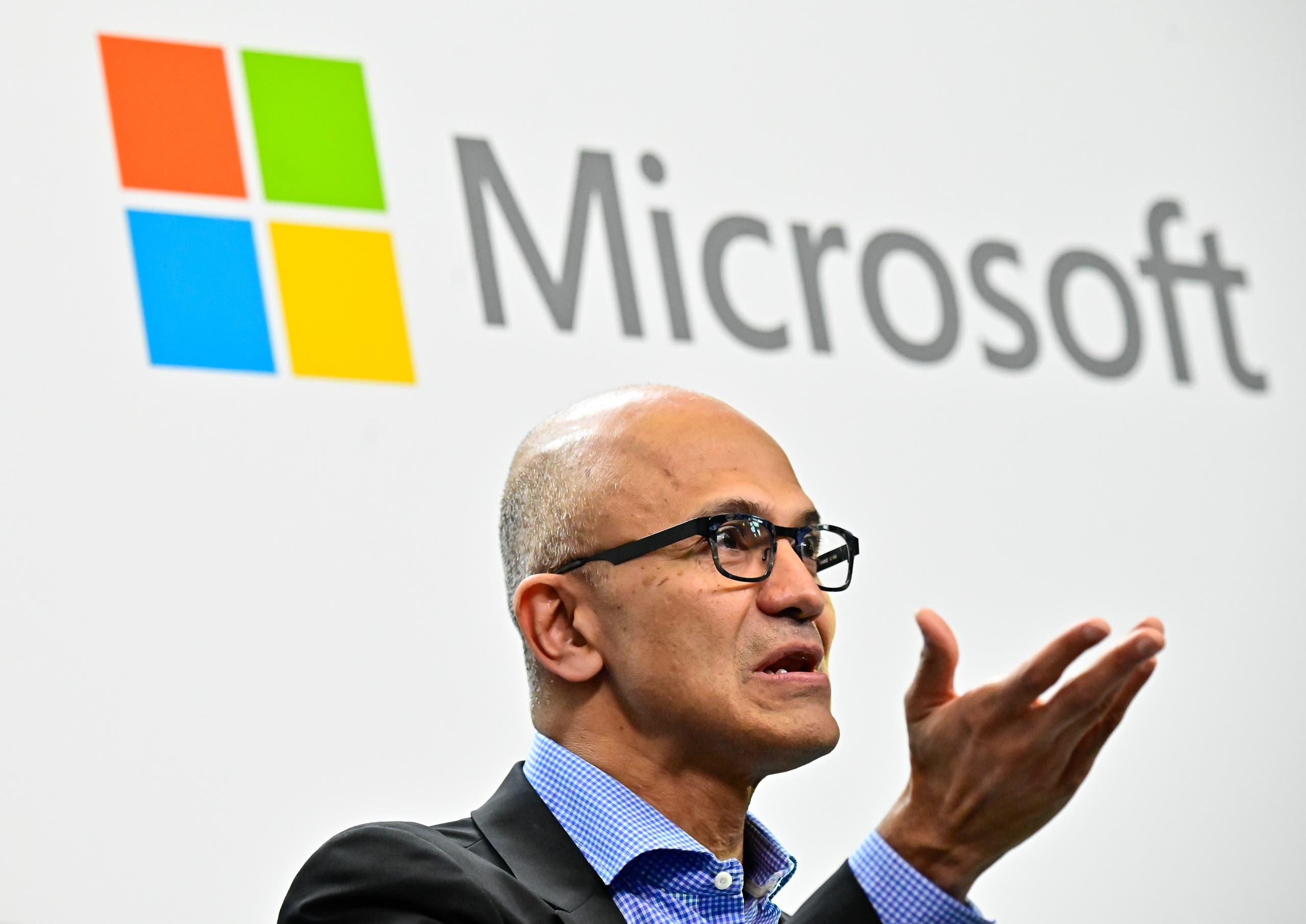 Microsoft CEO Satya Narayana Nadella. (AFP)