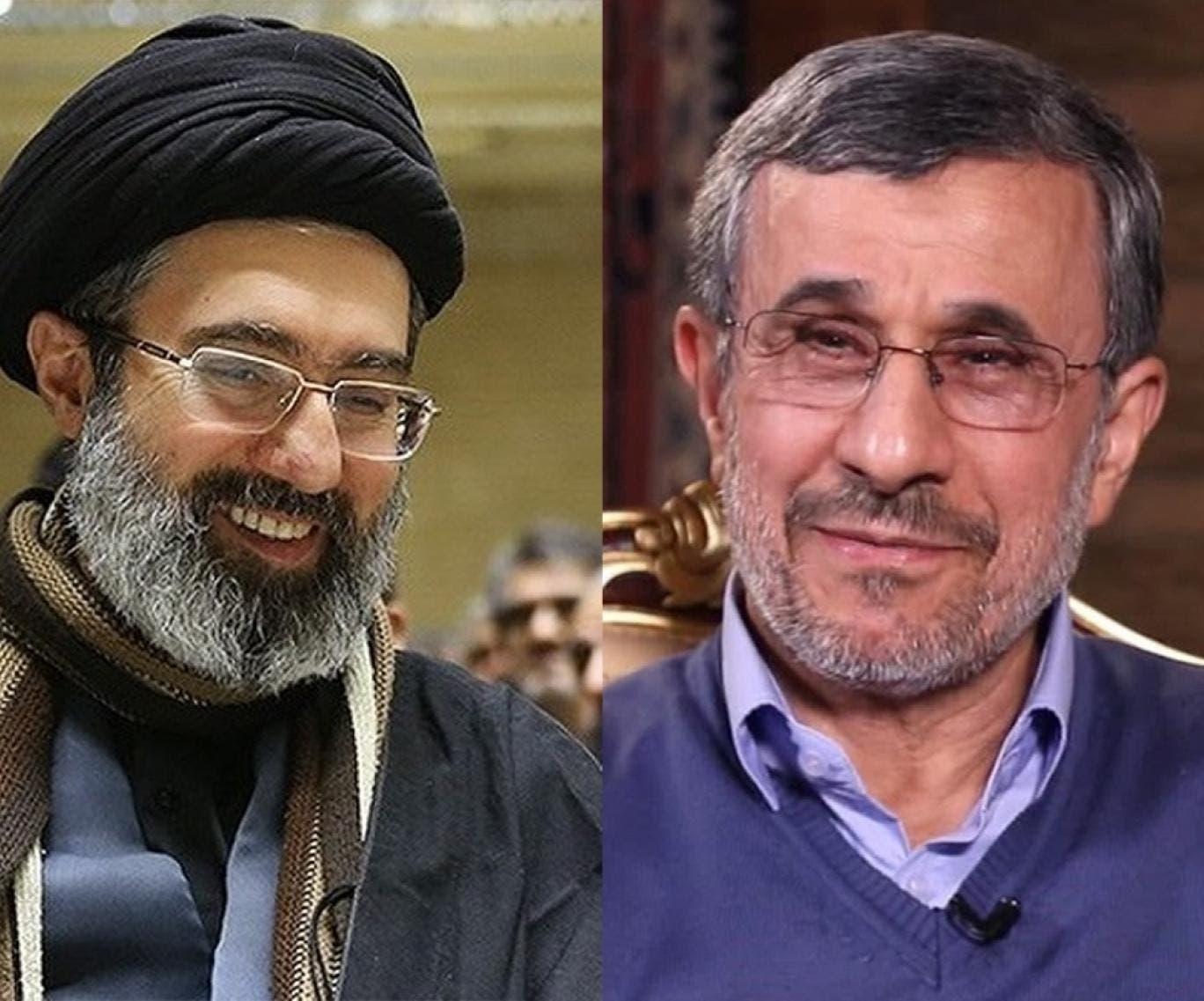 أحمدي نجاد ومجتبى خامنئي