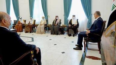 تاکید الکاظمی بر تلاش عراق برای تحکیم روابط با کشورهای شورای همکاری خلیج