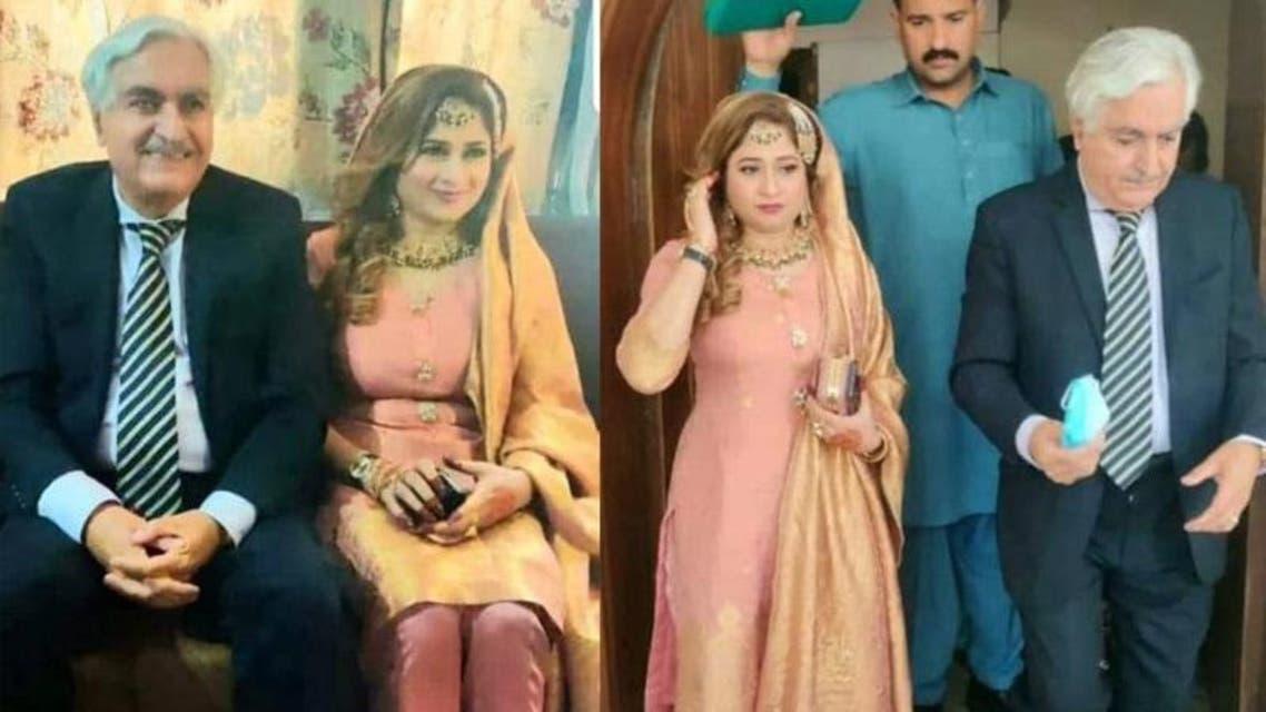 Iftikhad Gillani marriage