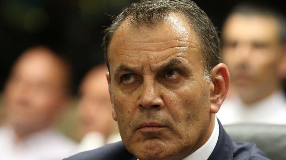 وزیر دفاع یونان نیکوس پانایوتوپولوس