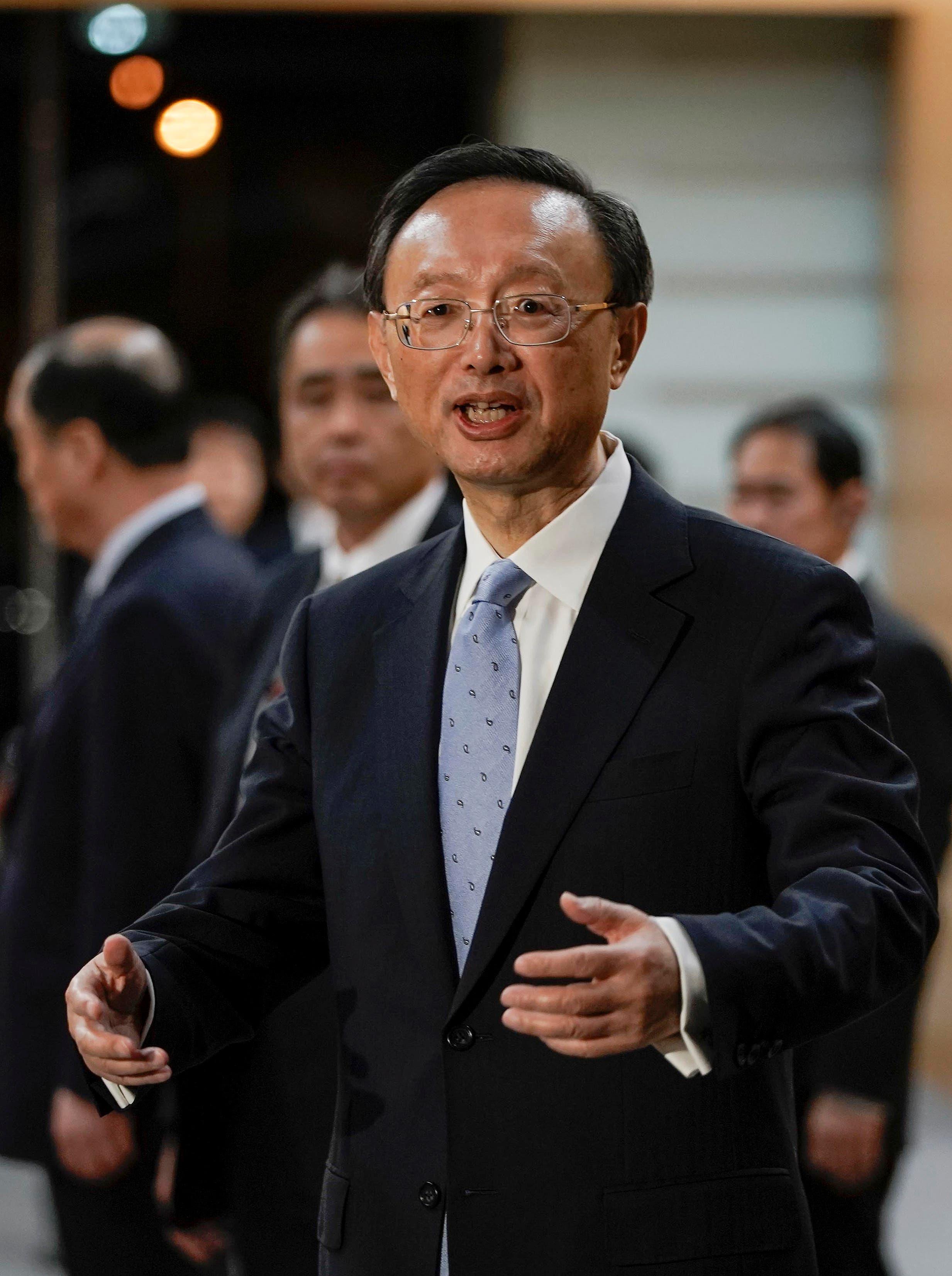 رئيس مكتب الشؤون الخارجية بالحزب الشيوعي الصيني الحاكم يانغ جيتشي