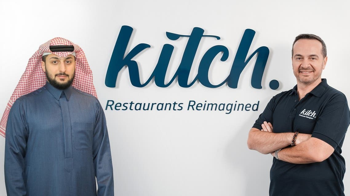 Fahad al-Hokair (left) and Walid Hajj (right), the co-founders of UAE-based cloud-kitchen food delivery platform, Kitch (Photo: Supplied by Kitch)