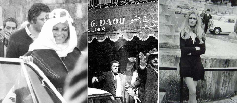 زارت بيروت مع زوجها المصور والمتزلج الألماني،  غونتر زاكس، الراحل انتحارا في 2011 بعمر 79 سنة
