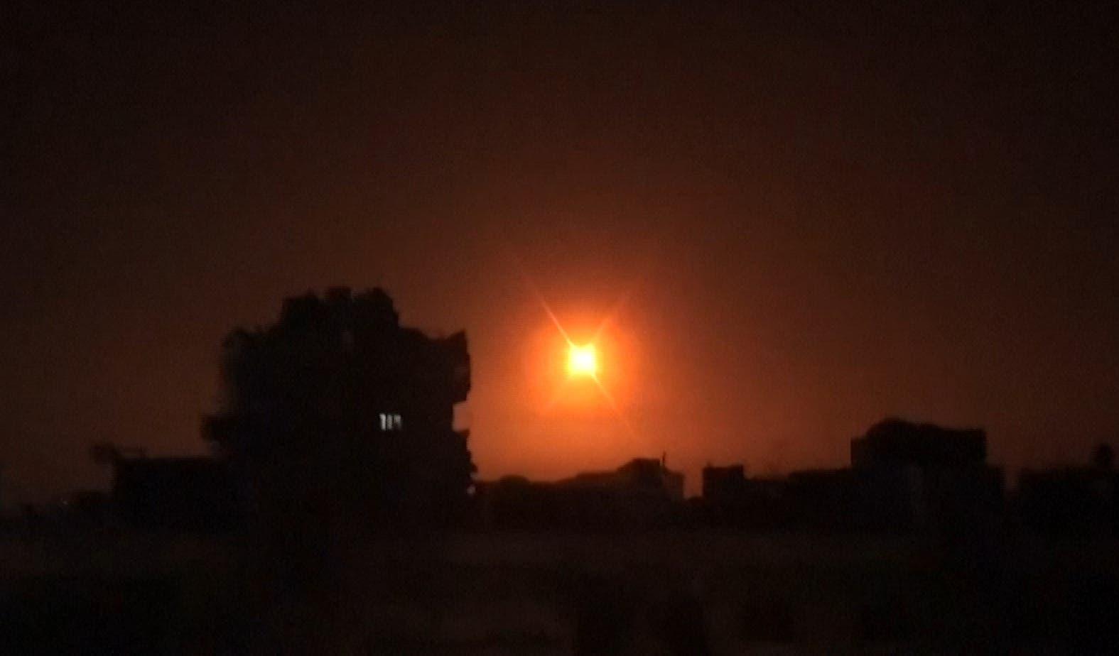 حمله اسرائیل به مواضع ایران در سوریه در فوریه سال 2020