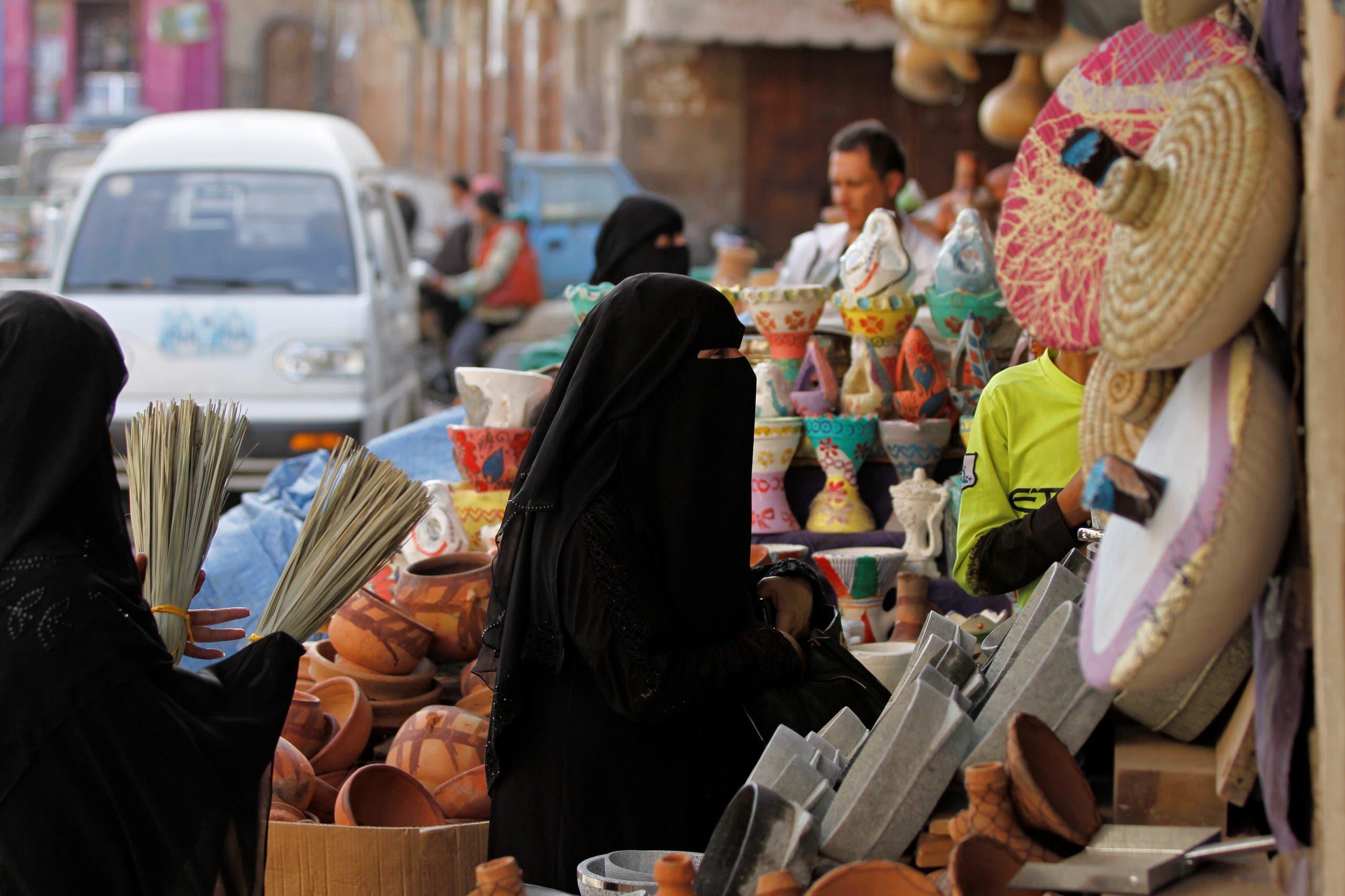 أحد أسواق صنعاء (أرشيفية)
