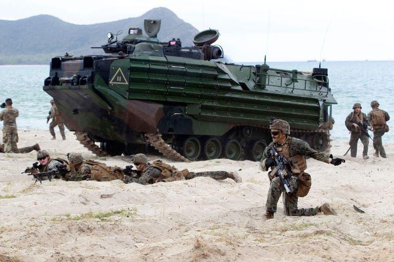 تمرين للبحرية الأميركية على عمليات الإنزال في تايلاند