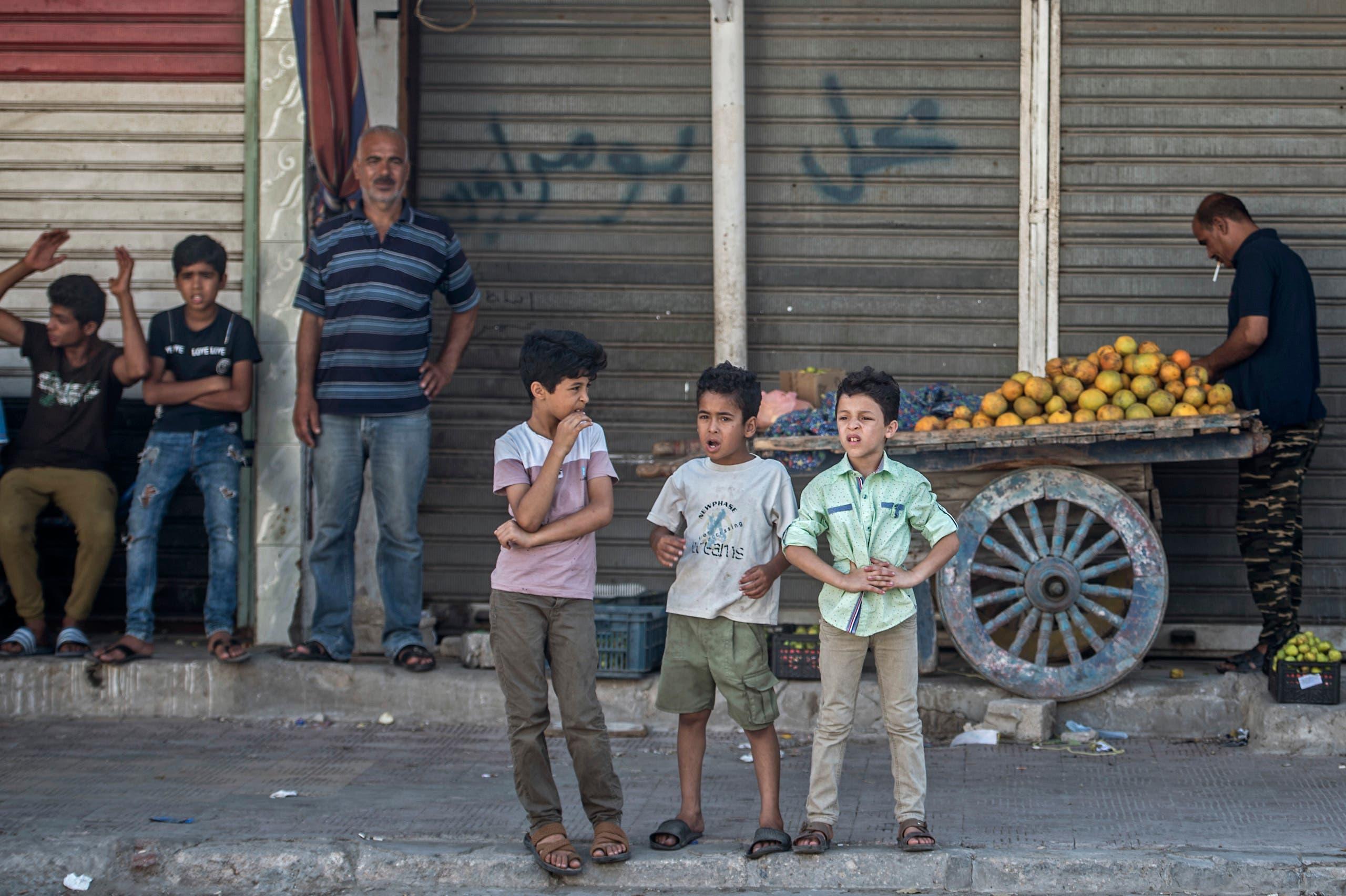 أطفال في مصر (أرشيفية- فرانس برس)