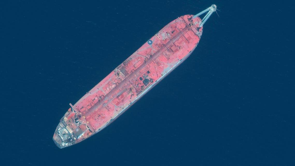 سفينة صافر في البحر الأحمر (أرشيفية- فرانس برس)