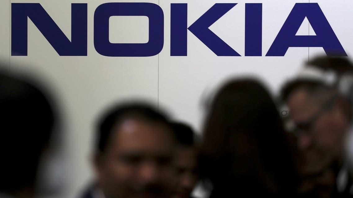 Visitors gather outside the Nokia booth at the Mobile World Congress in Barcelona, Spain. (File photo: Reuters)