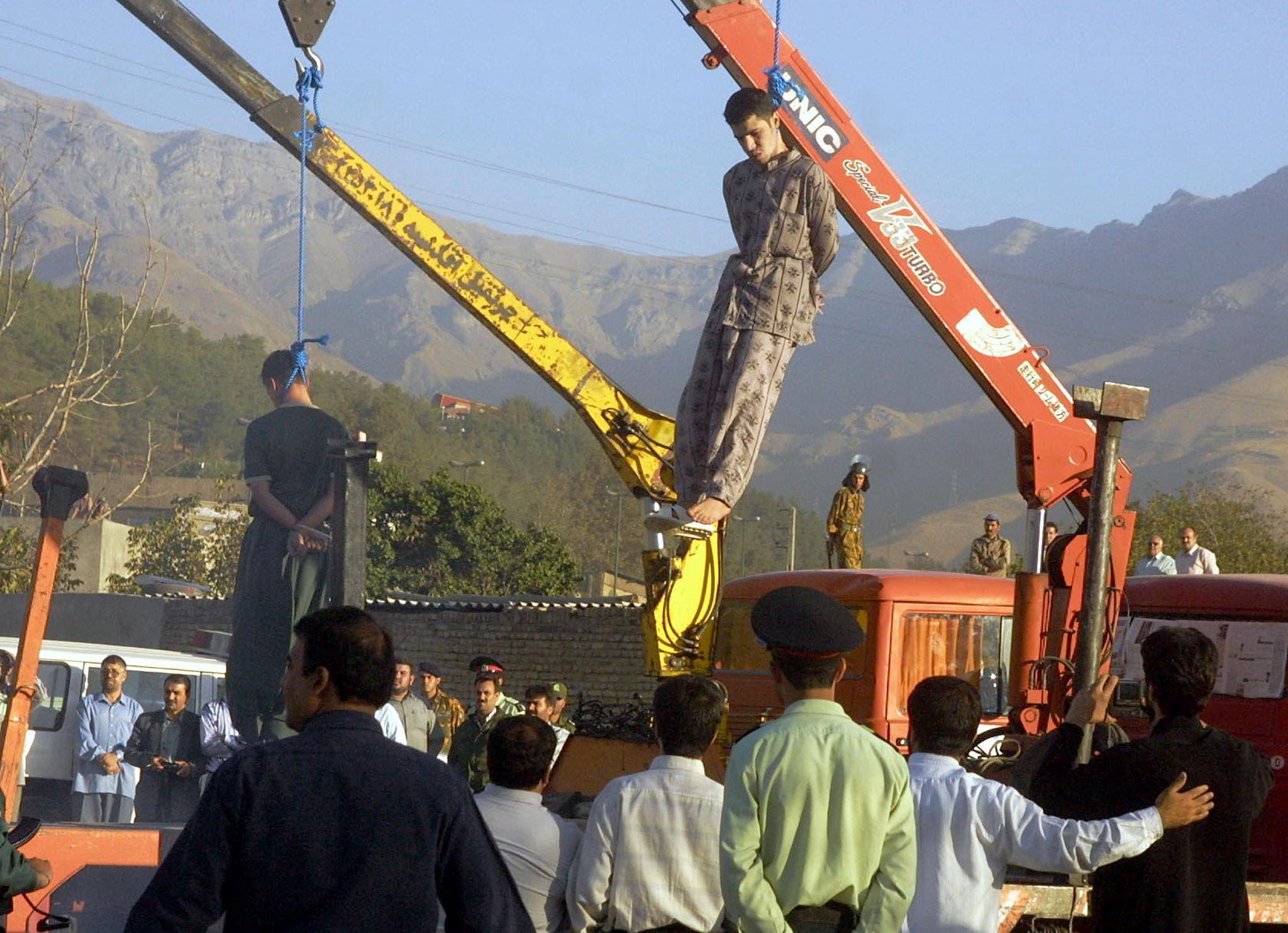 اعدامها در إيران (آرشيوی- فرانس پرس)