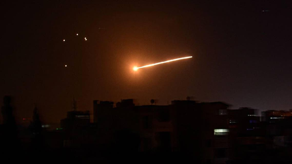 Syrian forces repulsed an Israeli attack in the south of the country