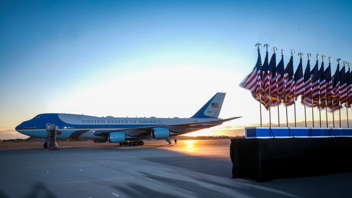 تسلل بقاعدة تضم طائرة الرئاسة الأميركية.. وسلاح الجو يحقق