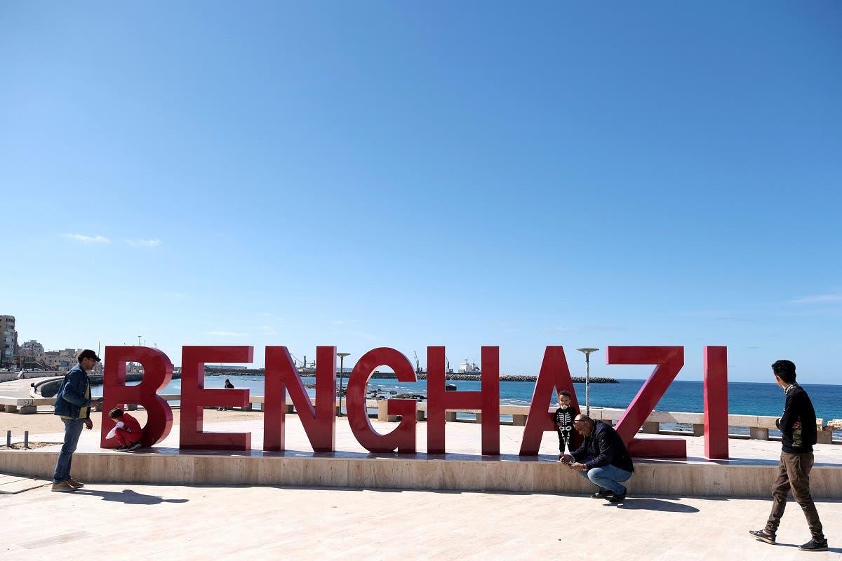 من بنغازي (رويترز)
