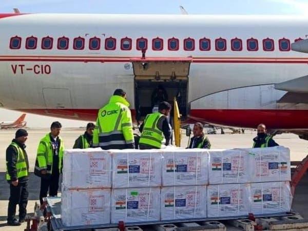 اولین بسته کمکی واکسین کرونا از هند به افغانستان رسید