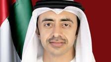 علاقائی کشیدگی کم کرنے کے لیے امریکا کے ساتھ کام پر کاربند ہیں : امارات