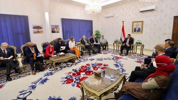 رئيس الوزراء اليمني: ميليشيا الحوثي تنفذ أجندة إيران