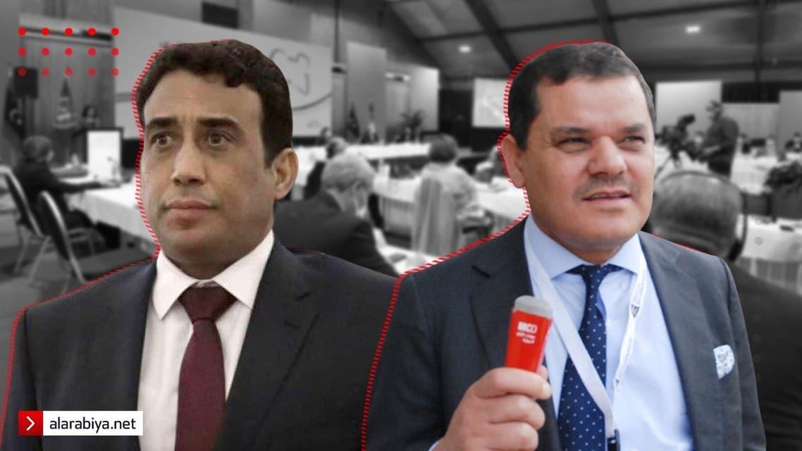عبد الحميد الدبية و محمد المنفي - السلطة الليبية خاص العربية نت