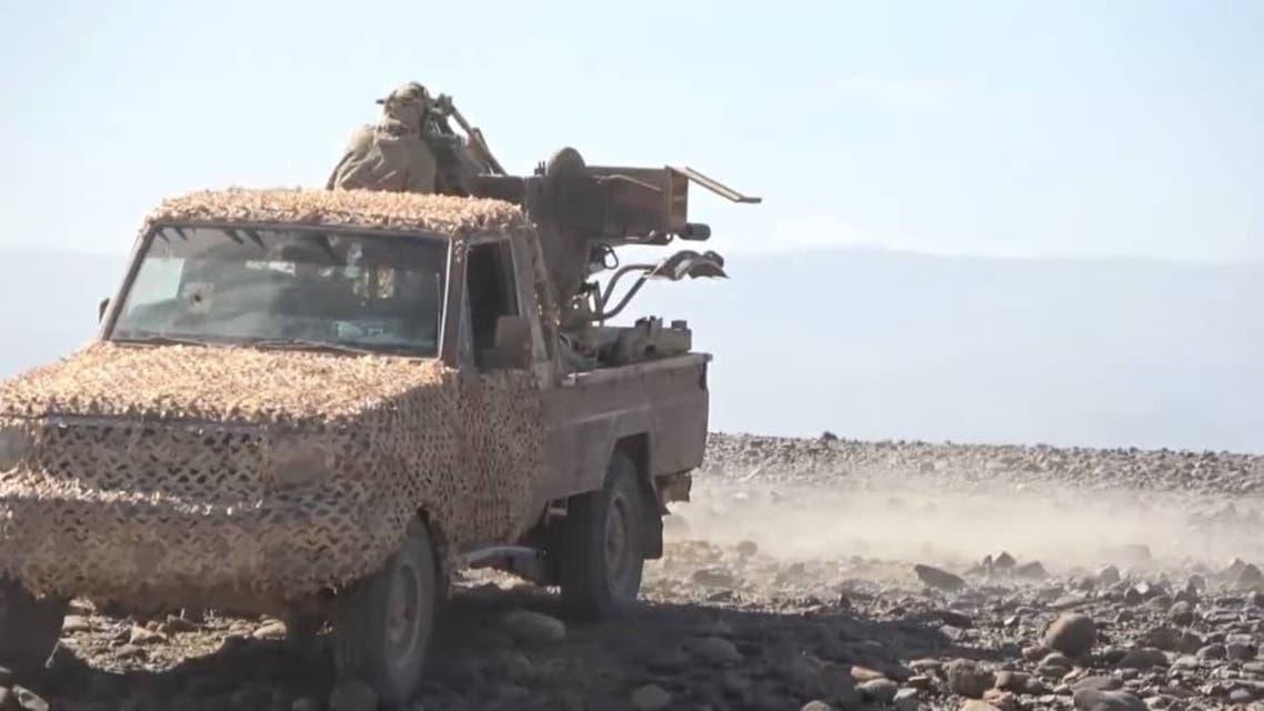 شاهد.. الجيش اليمني يكسر هجوماً حوثياً غرب مأرب اليمن 7 فبراير 2021
