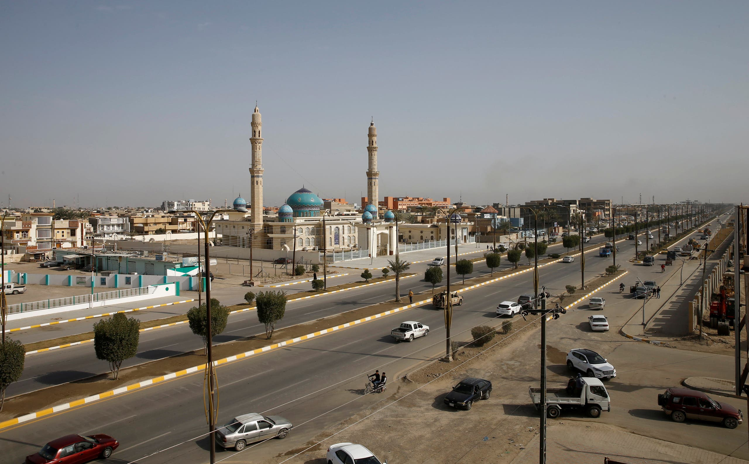 A view shows streets in Fallujah, Iraq February 3, 2021. (Reuters)