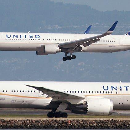 يونيتد إيرلاين تطلب شراء 270 طائرة من بوينغ وإيرباص