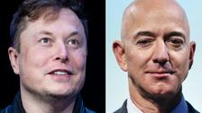 Musk trolls Bezos' attempt to challenge major NASA contract