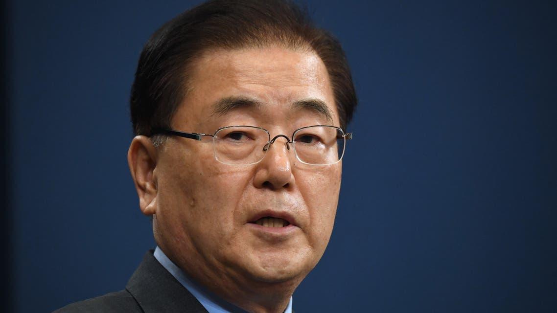 Chung Eui-yong, South Korea's top diplomat. (AFP)