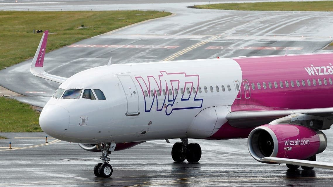A Wizz Air Airbus A320 at Luton Airport, Luton, Britain. (File photo: Reuters)