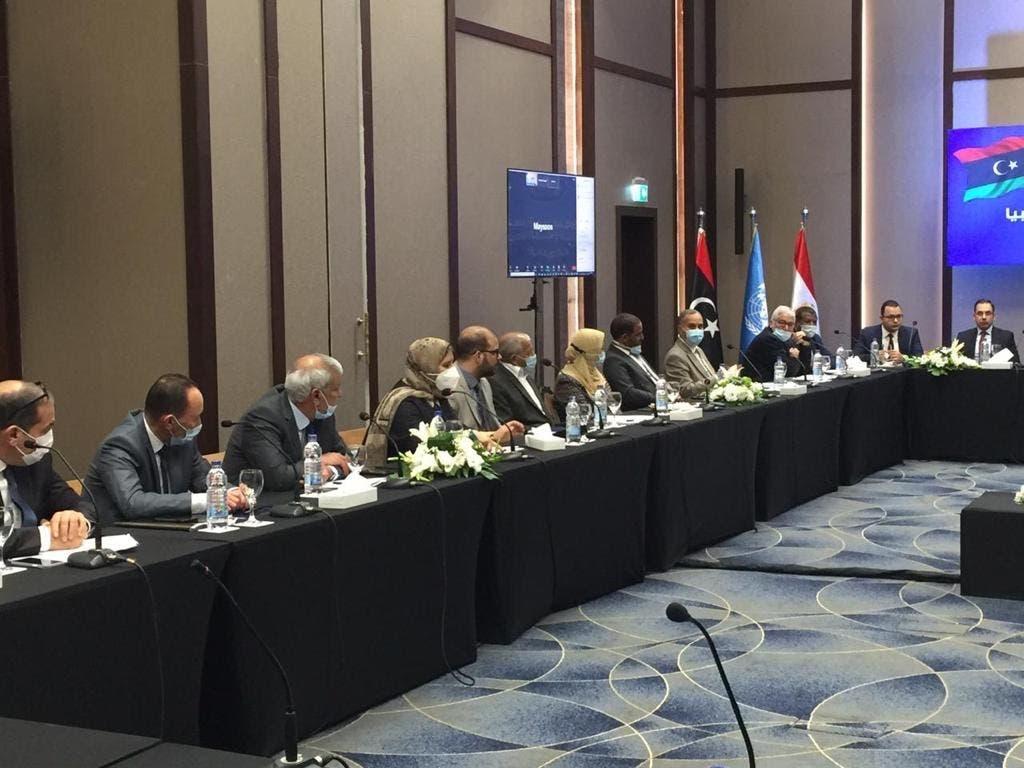من المحادثات الليبية في الغردقة