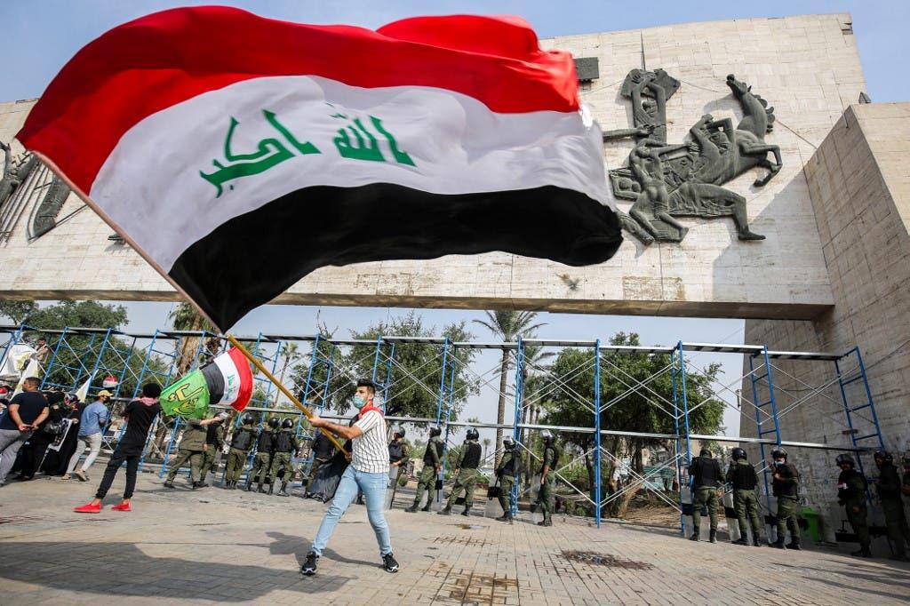 من وسط العاصمة العراقية بغداد - أرشيفية