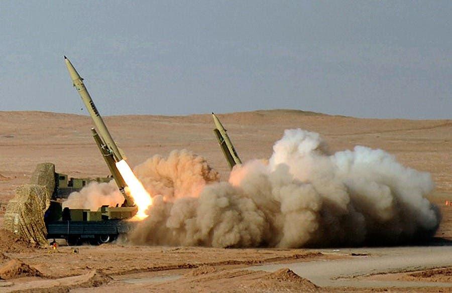 صواريخ إيرانية (فرانس برس)