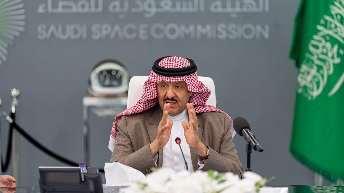 Prince Sultan bin Salman bin Abdulaziz, Chairman of the Saudi Space Commission. (Saudi Space Commission)