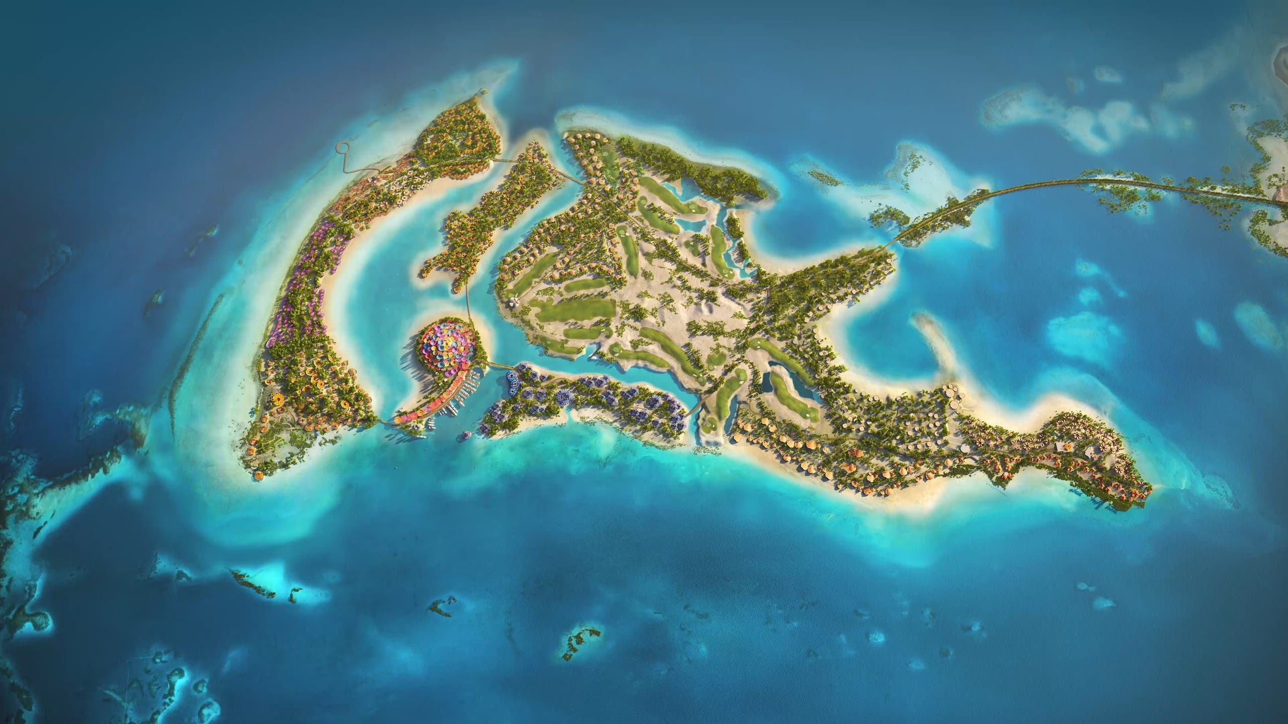 جزيرة شُريرة الرئيسية في مشروع البحر الأحمر