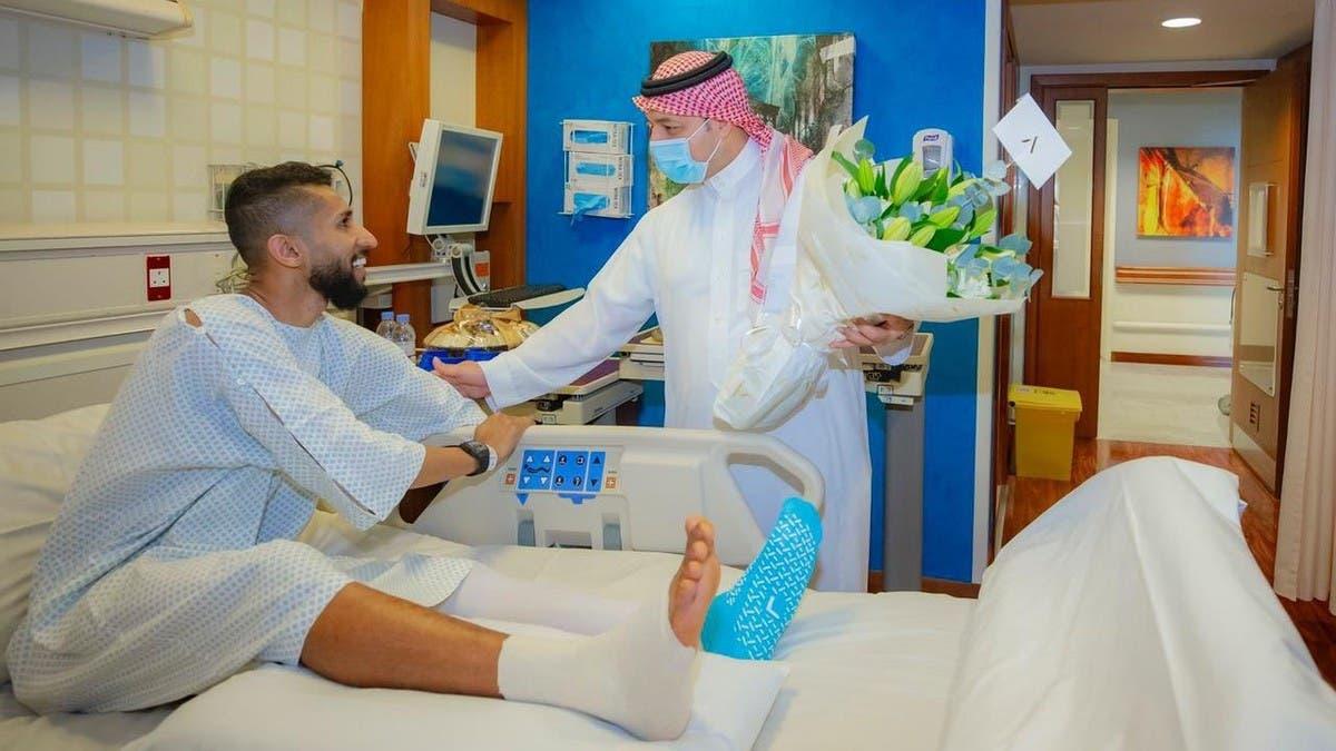المسحل يزور سلمان الفرج في الدوحة
