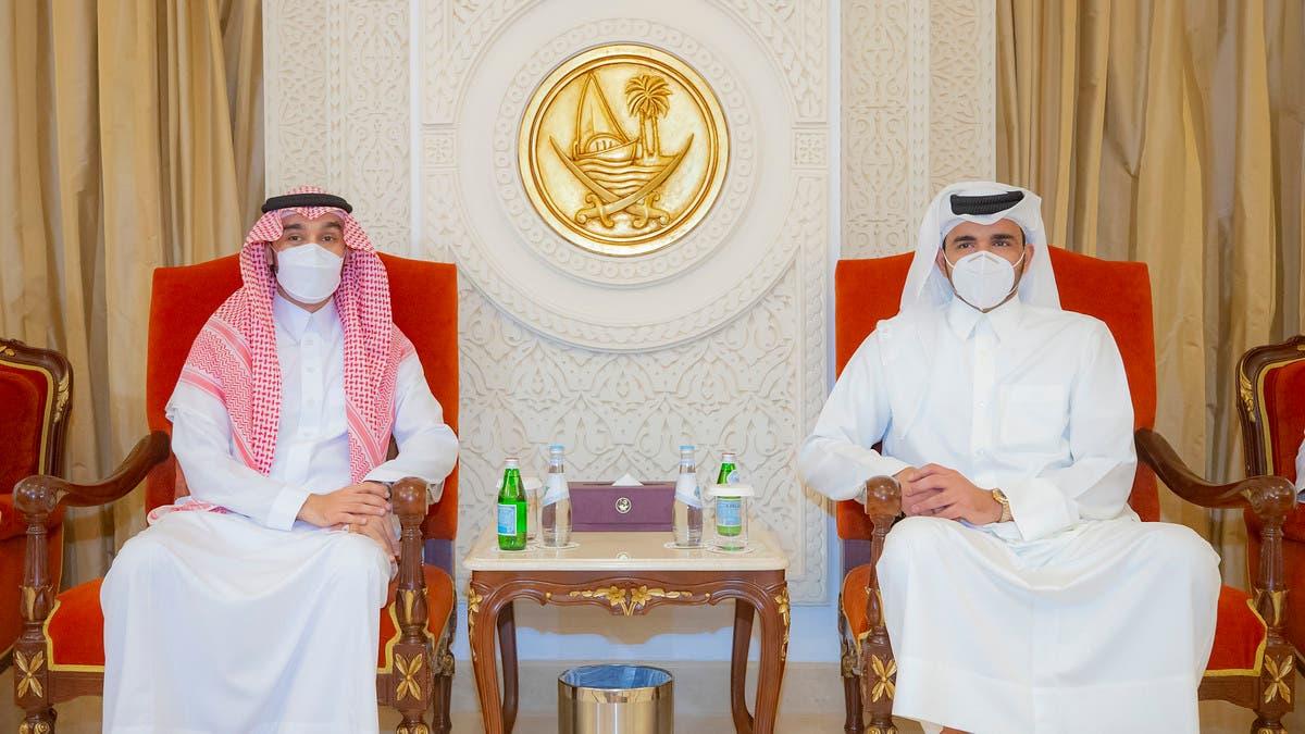 عبدالعزيز الفيصل يصل الدوحة لحضور نهائي مونديال الأندية