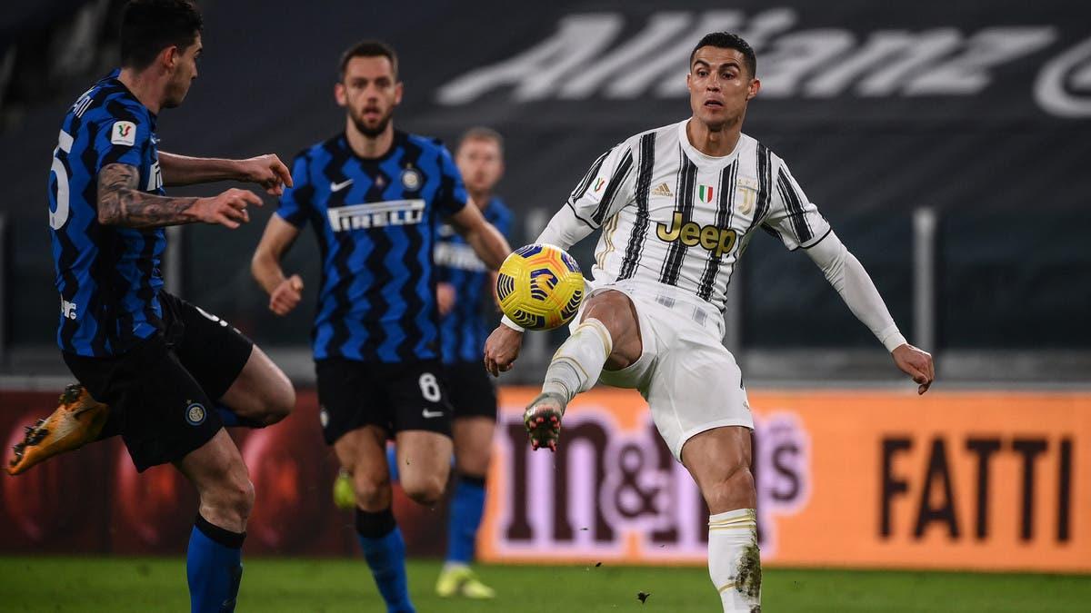 يوفنتوس يتعادل مع إنتر ويتأهل إلى نهائي كأس إيطاليا