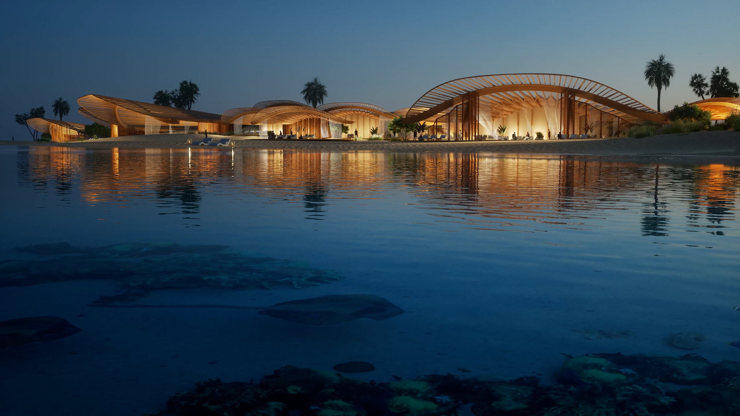 Shurayrah is the hub island of The Red Sea Project on the west coast of Saudi Arabia. (TRSDC)