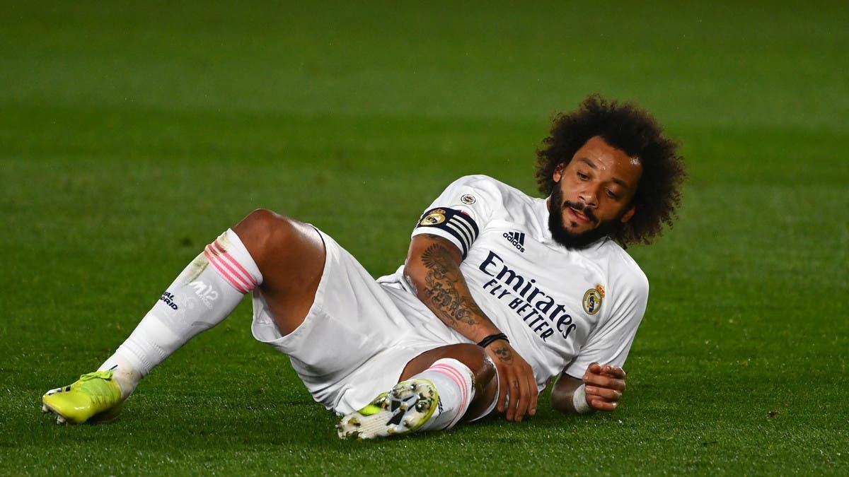 مارسيلو يلتحق بعيادة ريال مدريد