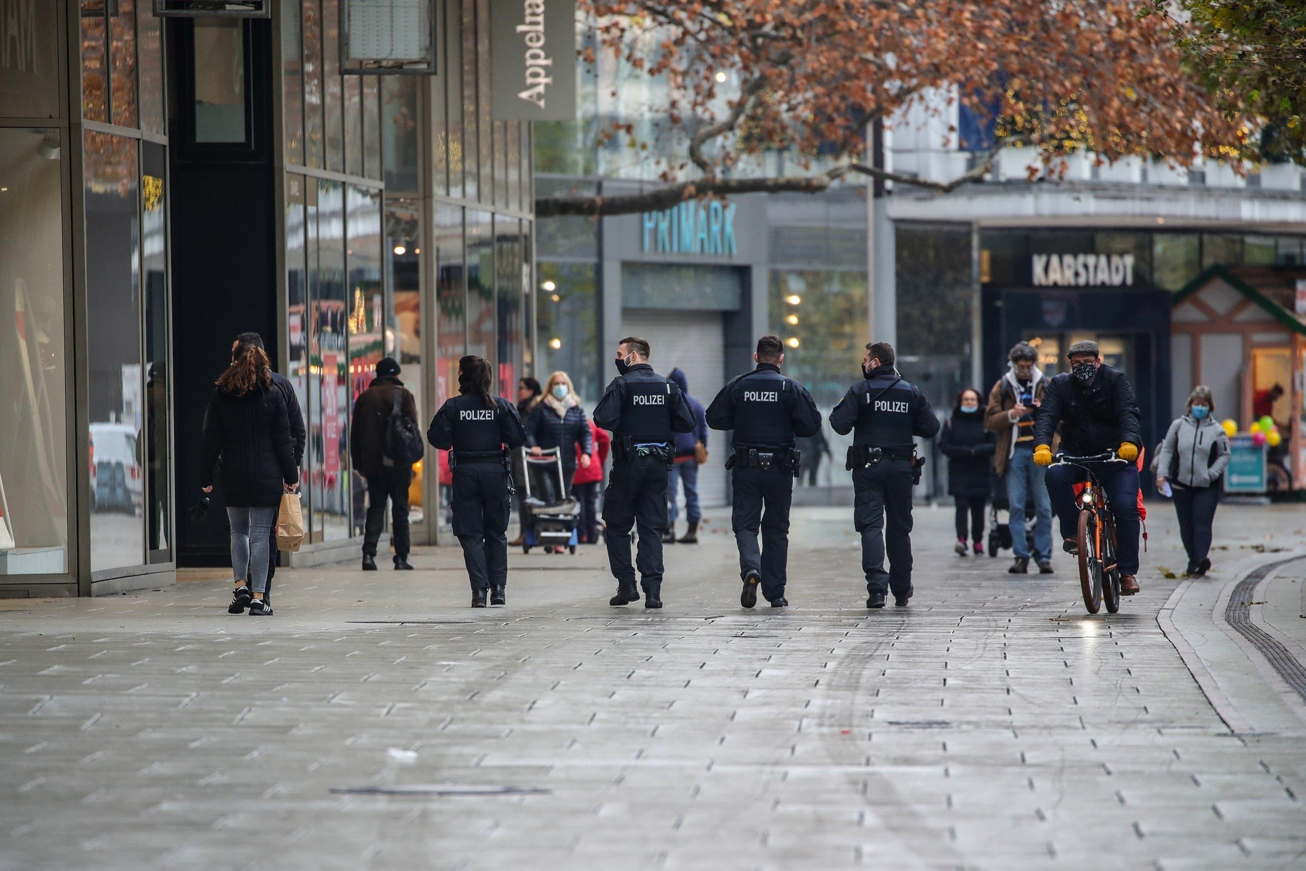الشرطة الألمانية في فراكفورت (أرشيفية)