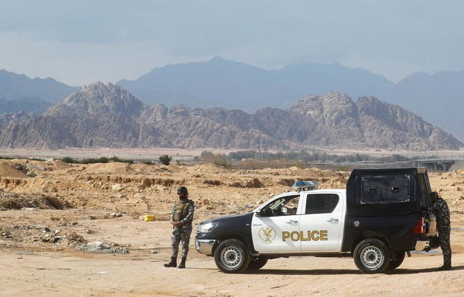Egyptian Special Forces stand by the Red Sea resort of Sharm el-Sheikh to ensure security in the South Sinai Governorate, Egypt. (Reuters)