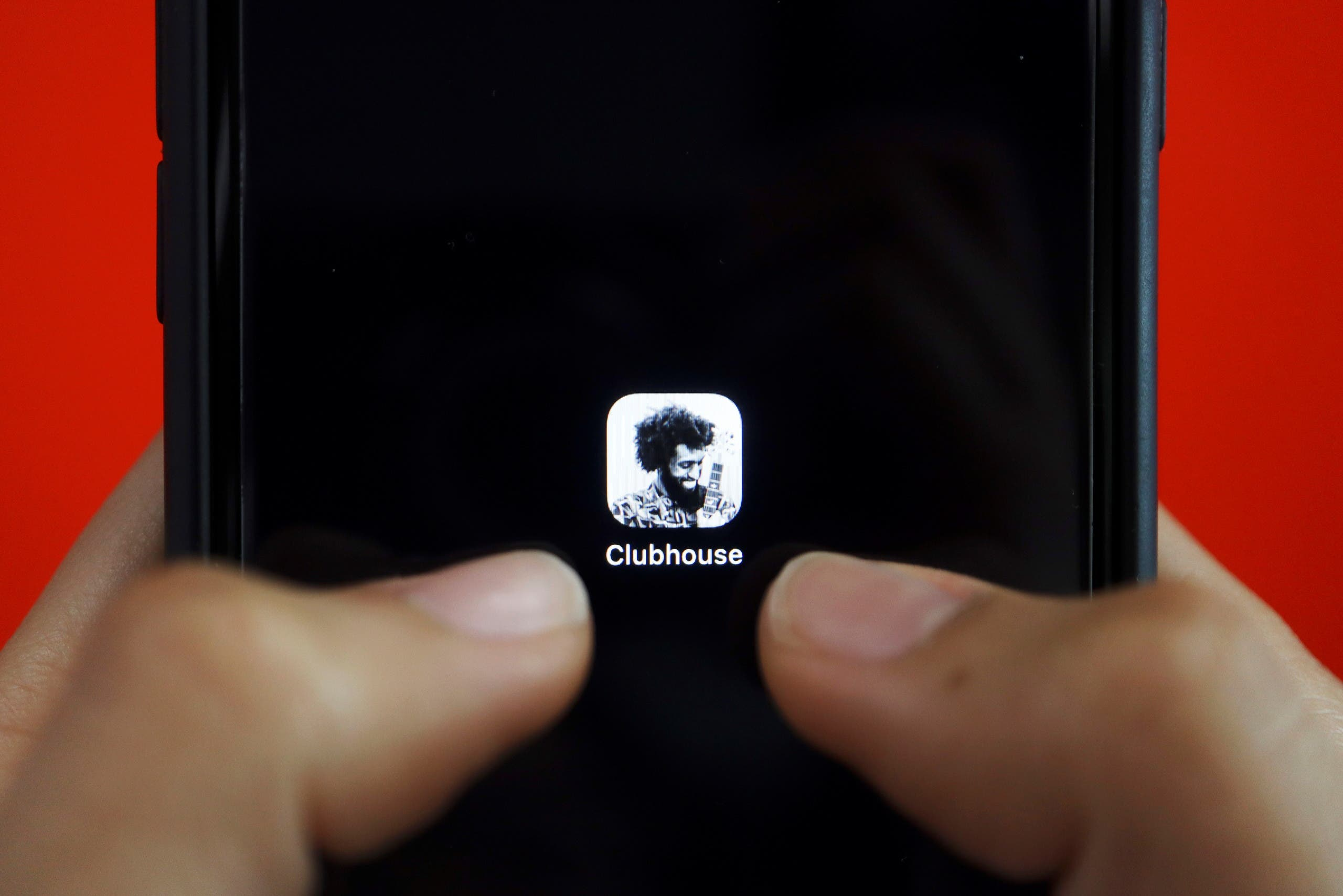 The social audio app Clubhouse is seen on a mobile phone in this illustration picture taken February 8, 2021. (File photo: Reuters)