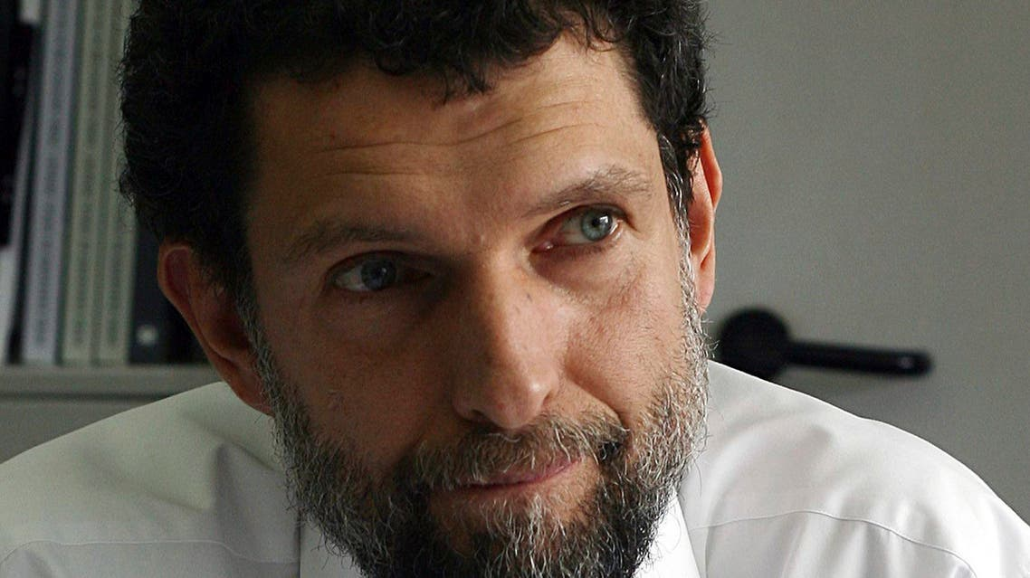 In this April 29, 2015 file photo, Osman Kavala, a Turkish philanthropist businessman and human rights defender is photographed, in Istanbul. (AP)
