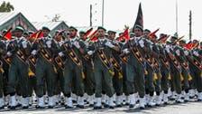 پاسداران انقلاب ایران کی برّی فورسز کی عراق کی سرحد کے نزدیک مشق