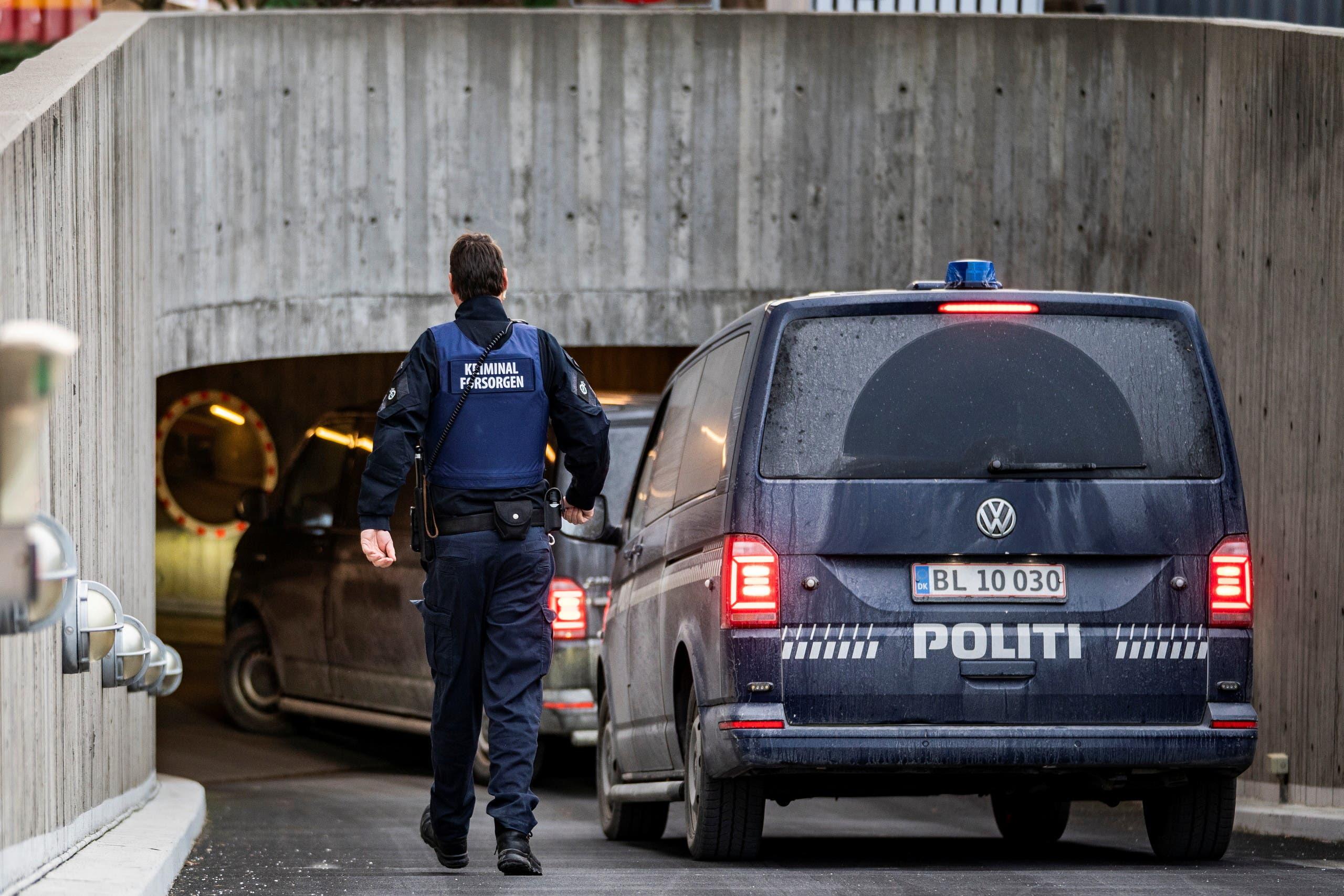 الشرطة الدنماركية في كوبنهاغن (أرشيفية)